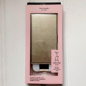 KS Sylvia iPhone XR Magnetic Wrap Folio Case
